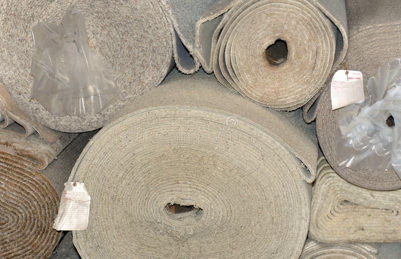 mattrulle arkivbild