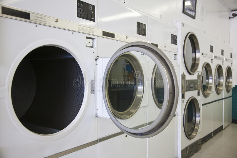 mattt tvätteri arkivbild