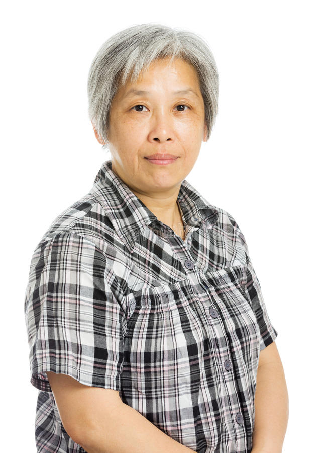 Mature Asian Woman Smile Royalty Free Stock Photo - Image 35831295-2049