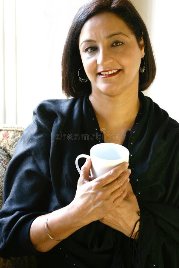 A mature beautiful Asian female stock photos