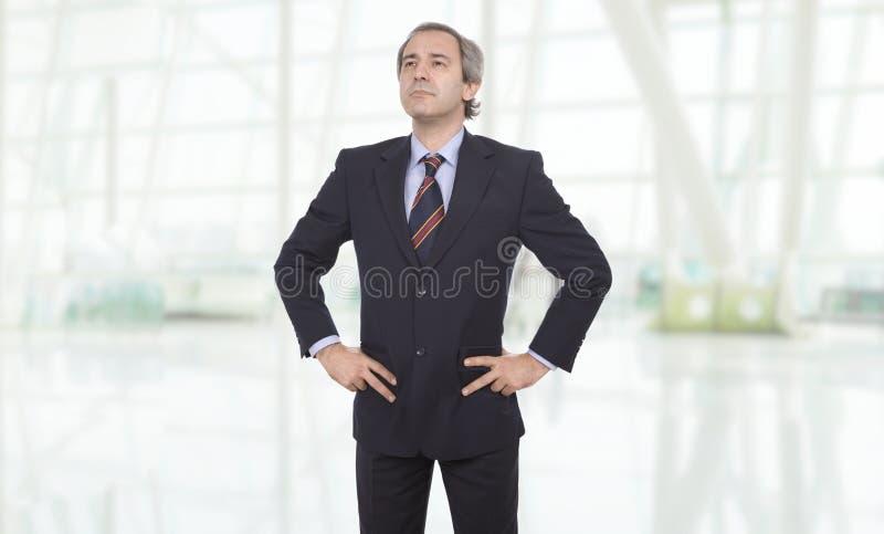Mature business man stock photos