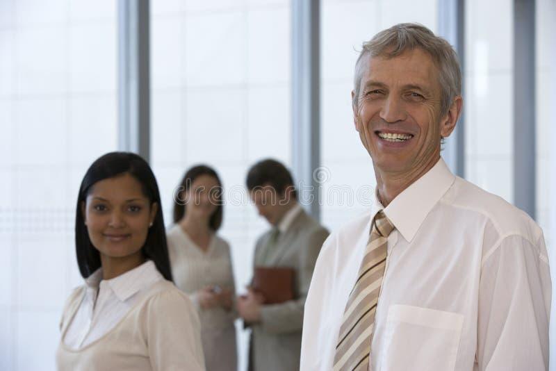 Mature businessman stock photos