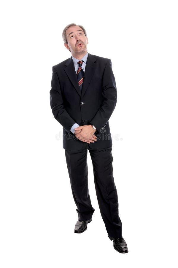 Mature businessman portrait stock photography