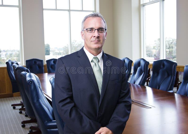 Mature Businessman Portrait royalty free stock photo