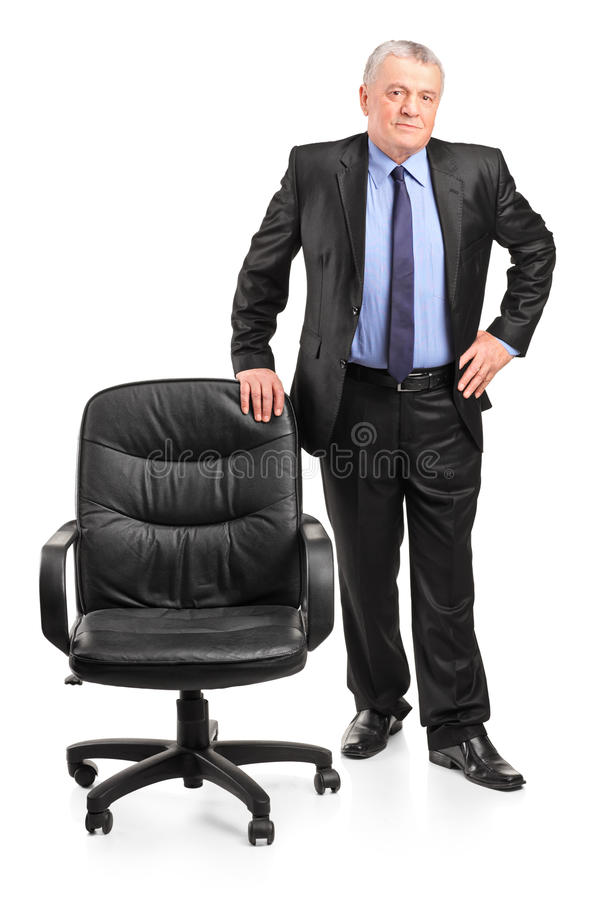 Download Mature Businessman Standing Royalty Free Stock Photo - Image: 23350775