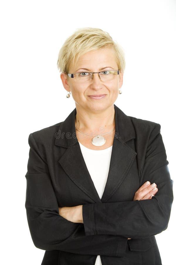 Mature businesswoman royalty free stock photo