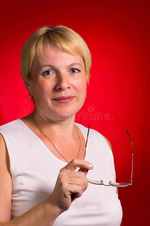 Mature Businesswoman Royalty Free Stock Images