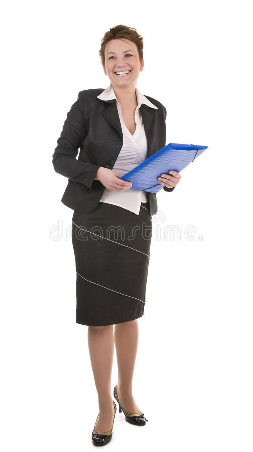 Mature And Confident Business Woman royalty free stock photography