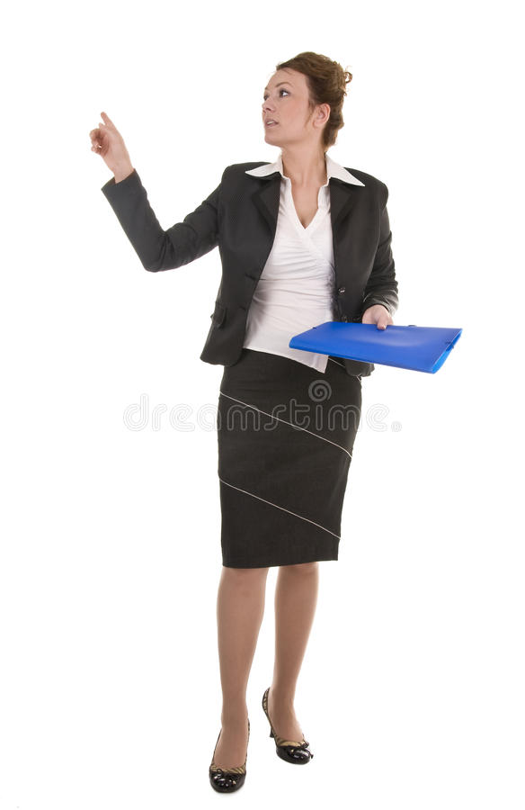 Mature And Confident Business Woman stock images