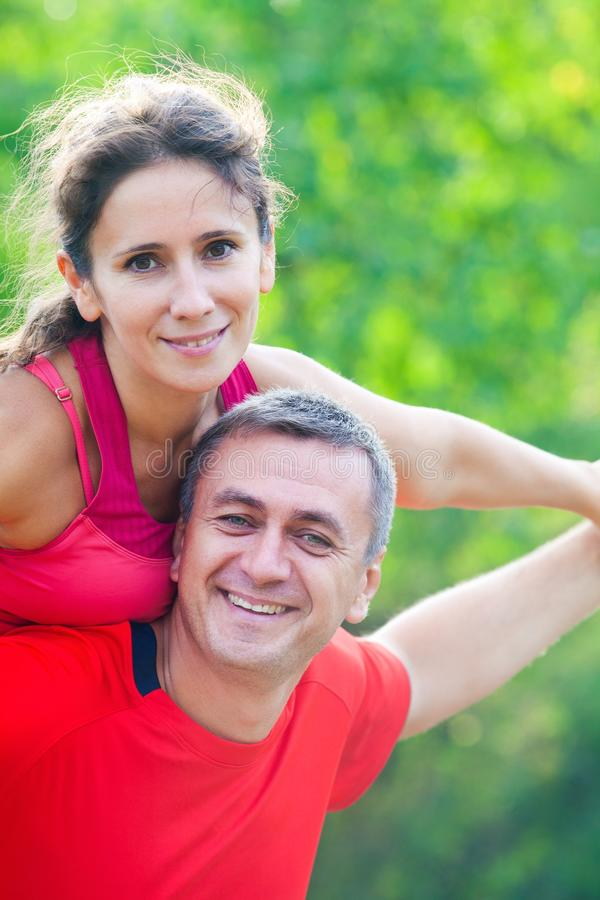 Download Mature couple stock image. Image of cheerful, healthy - 26451757