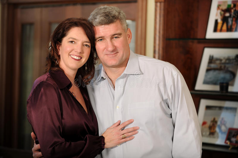 Download Mature Couple Indoors stock photo. Image of couple, lovers - 23061316
