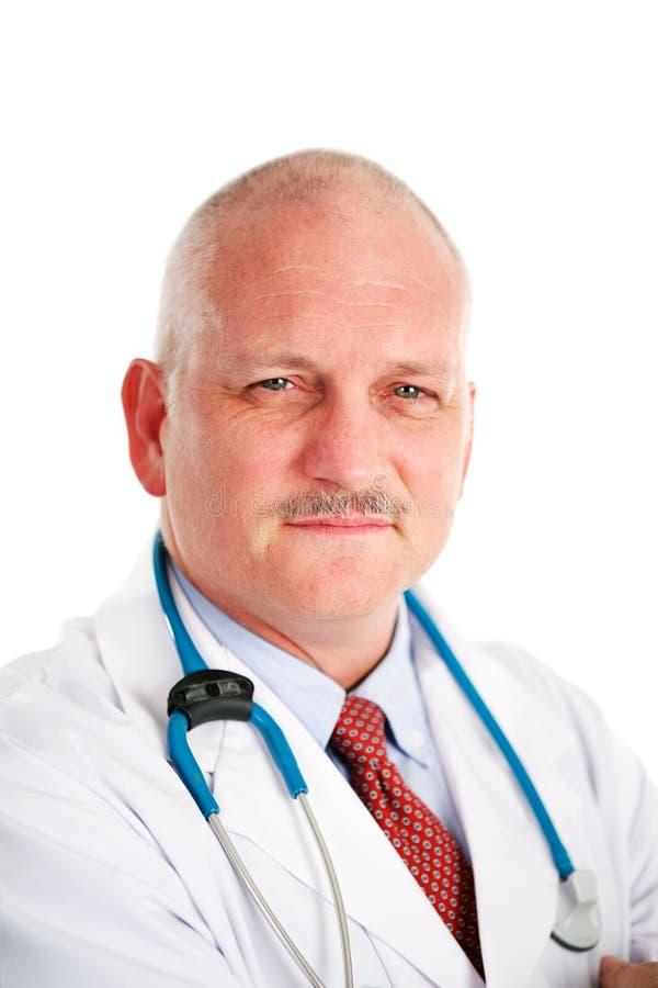 Mature Doctor Portrait stock image
