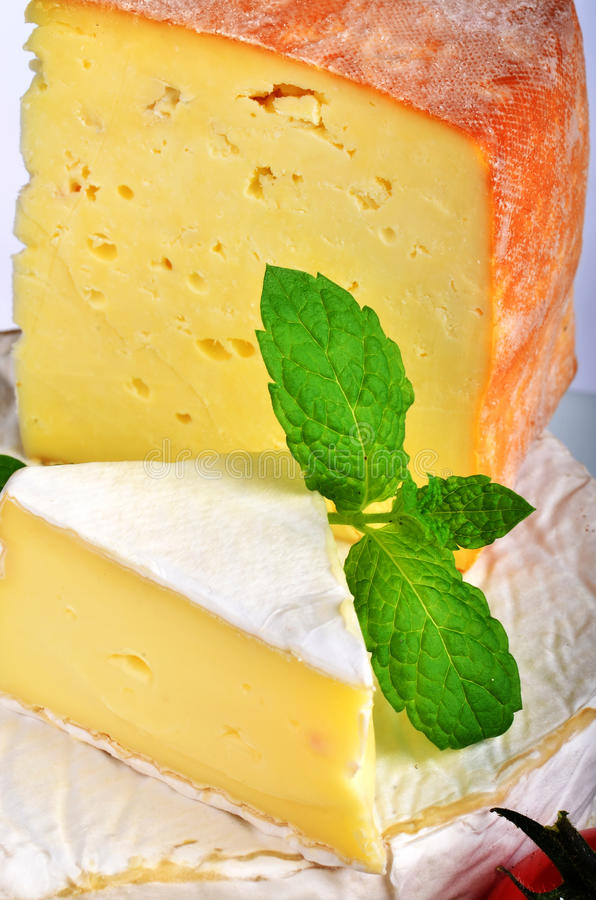 Mature French Cheese Royalty Free Stock Photo