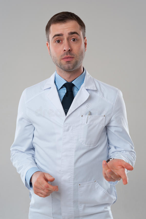 Mature Male doctor stock images