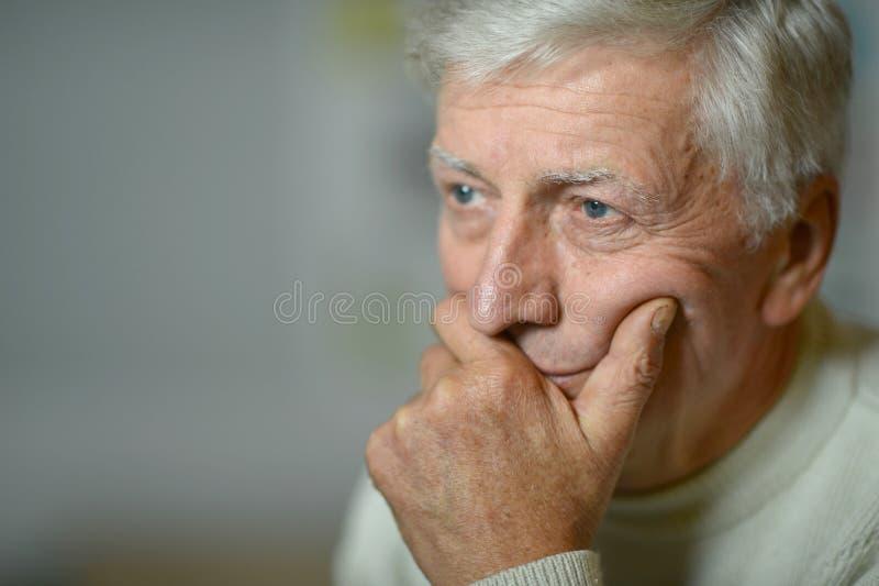 Mature man stock image