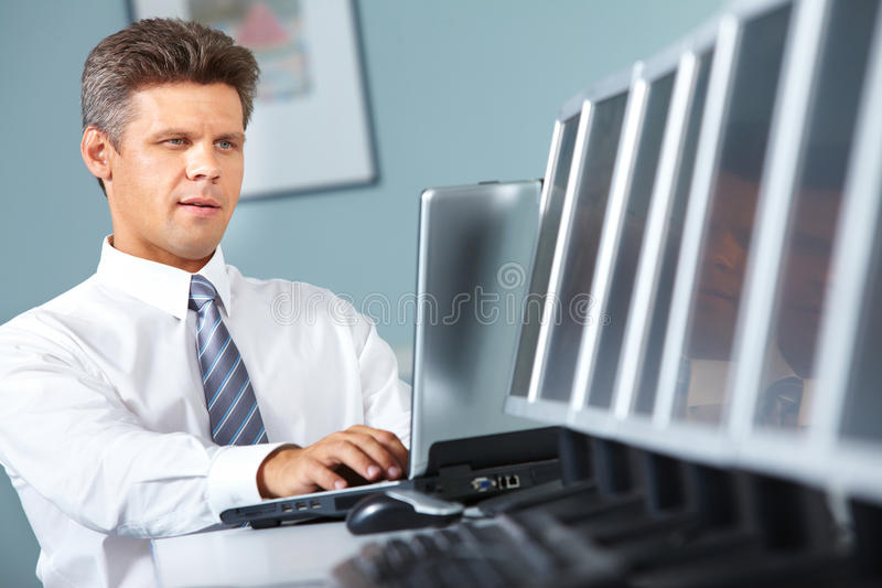 Download Mature manager stock photo. Image of handsome, chief - 24237400