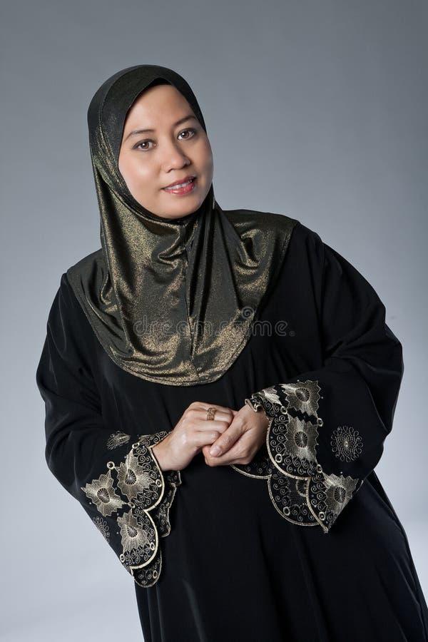 Mature Muslim Malay Woman In Studio Stock Photography - Image 18334912-8944