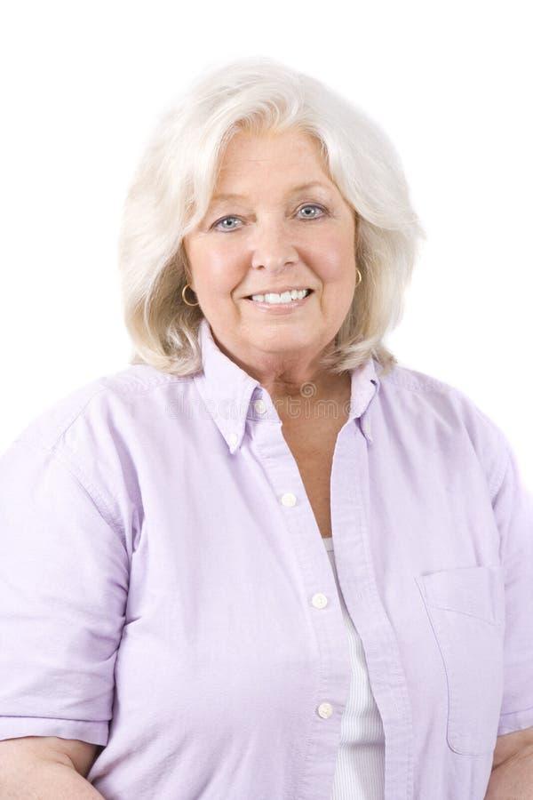 Mature Woman royalty free stock photos