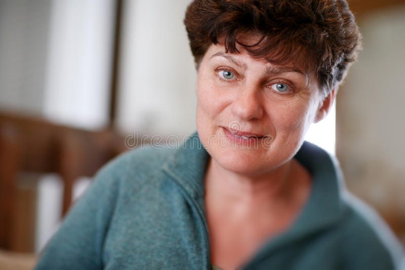 Download Mature woman stock photo. Image of female, brunette, looking - 19147144
