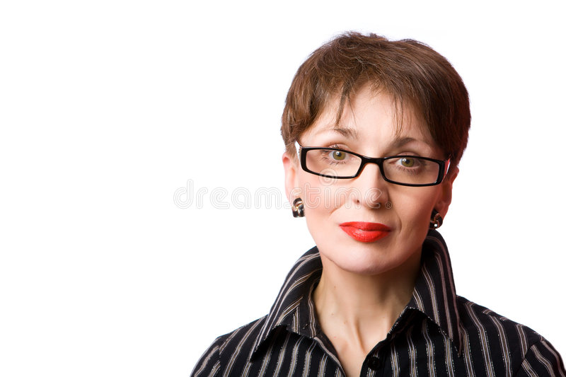 Mature Woman Royalty Free Stock Photo