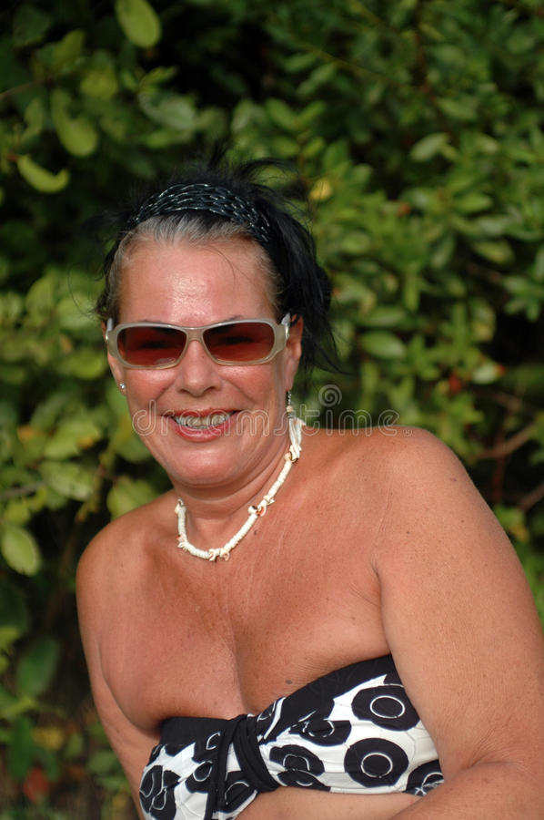 Mature Woman royalty free stock images