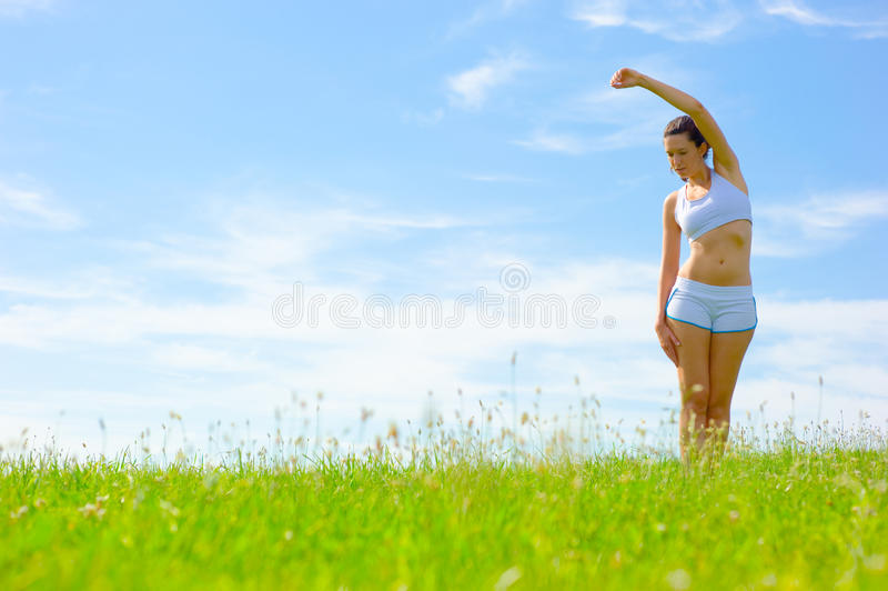 Download Mature Woman Athlete stock photo. Image of copyspace - 10783778