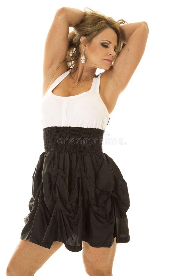 Flashing formal black dresses for mature women