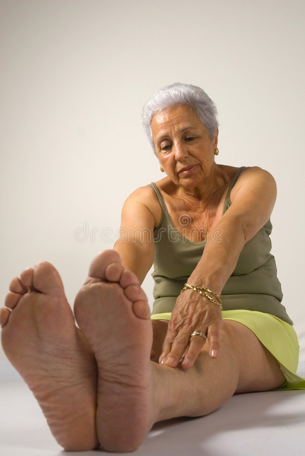 Download Mature woman exercising stock photo. Image of healthy - 5421880