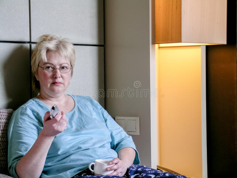 Mature Woman Sleeping In Stock Photo Image Of Vibrant - 47126760-8155