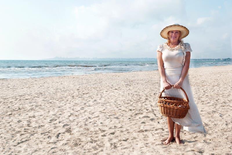 Download Mature women. stock image. Image of beach, season, lifestyle - 26913533