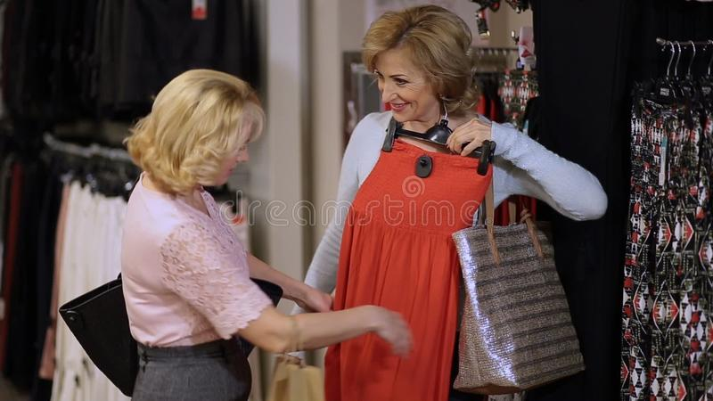 shopping Mature women