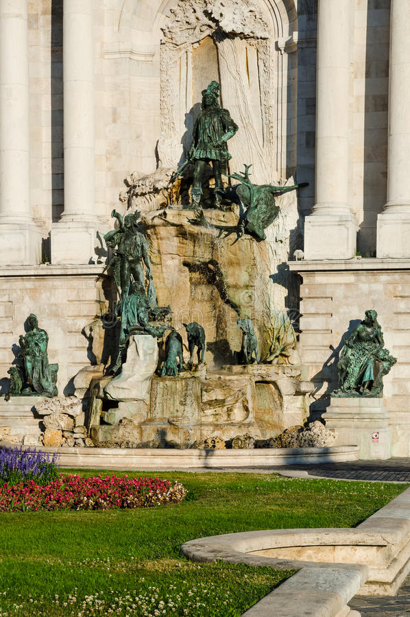 Matyas Fountain, Budapest royalty free stock photography