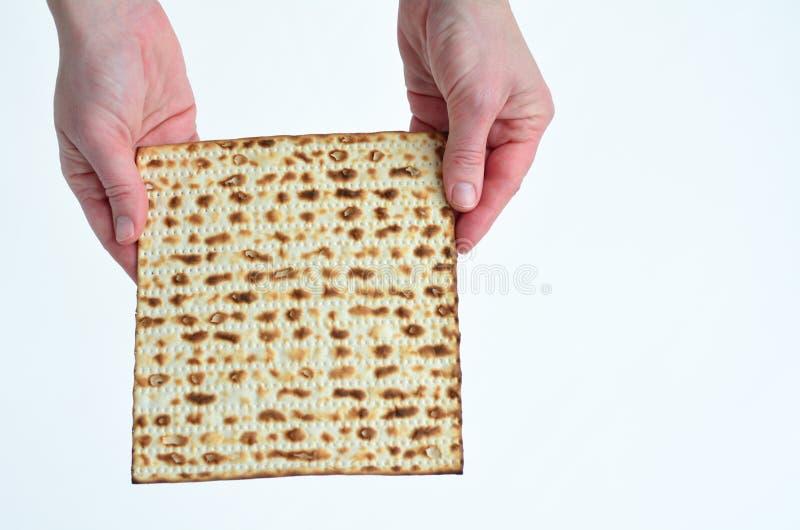 Matza - día de fiesta judío de la pascua judía fotografía de archivo