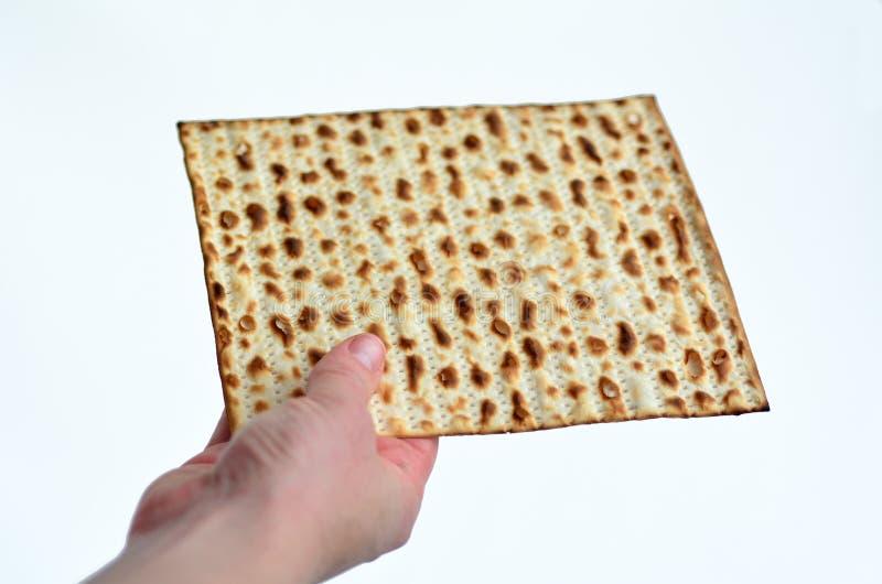Matza - día de fiesta judío de la pascua judía imagen de archivo