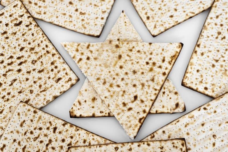 Matza dla passover świętowania zdjęcie royalty free
