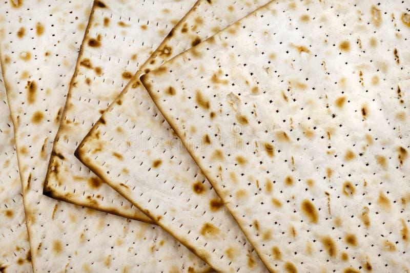 Matza para la celebración del passover fotografía de archivo