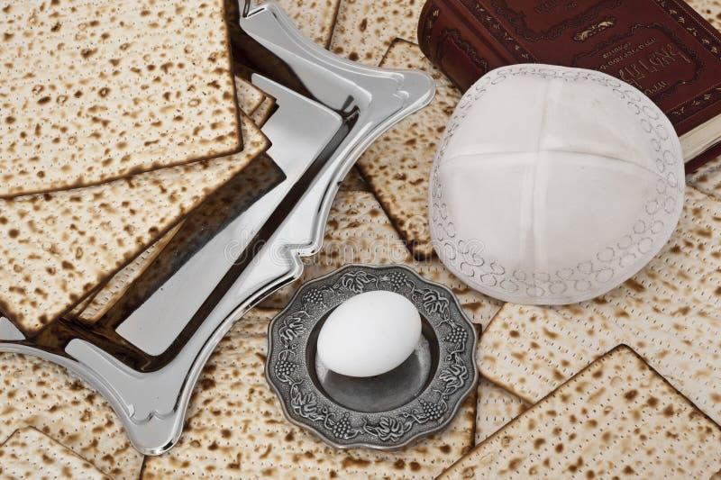 Matza para la celebración del passover fotografía de archivo libre de regalías