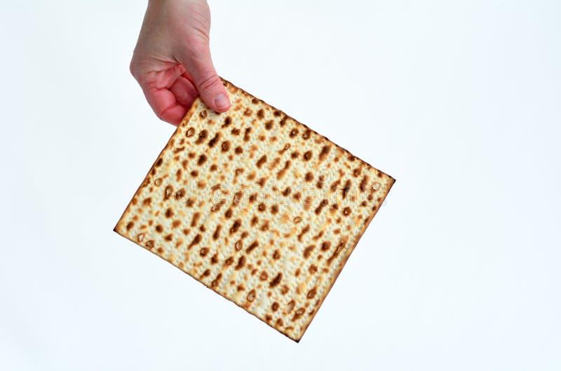 Matza - Passover Żydowski wakacje obraz stock
