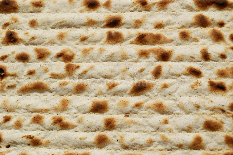 Matzah ebreo di passover fotografia stock
