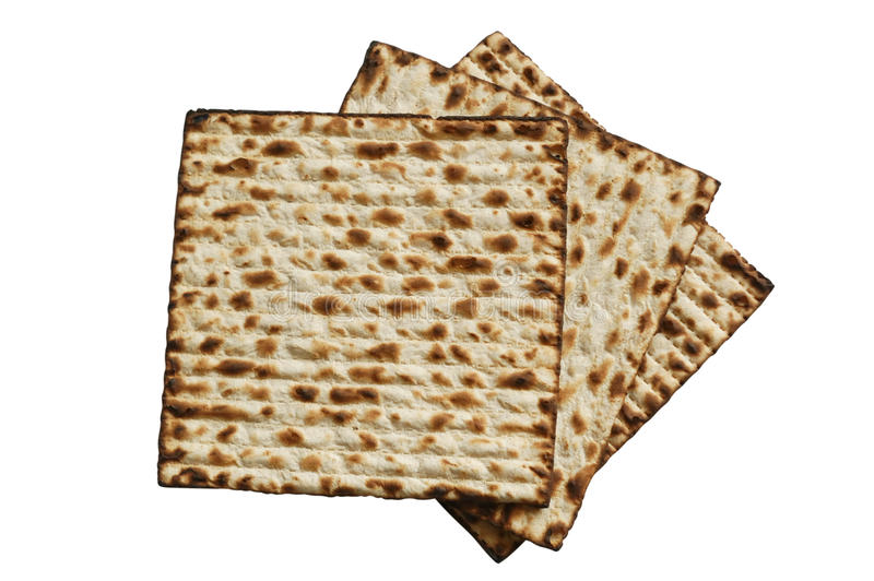 Matzah ebreo di passover fotografie stock libere da diritti