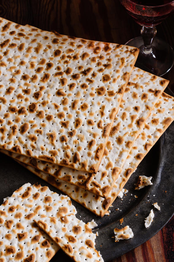 Matzah krakers zdjęcie royalty free