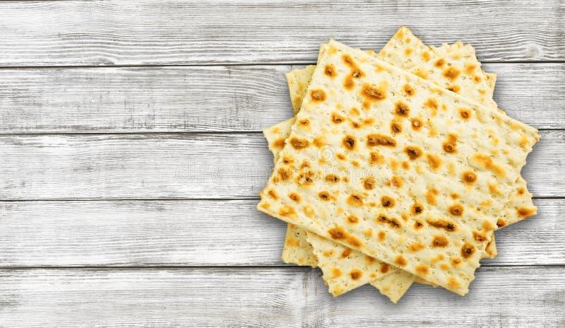 Matzahs Joodse passover matzah stock afbeelding