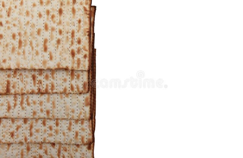 Matzo judaico tradicional da páscoa judaica do alimento do feriado fotos de stock royalty free