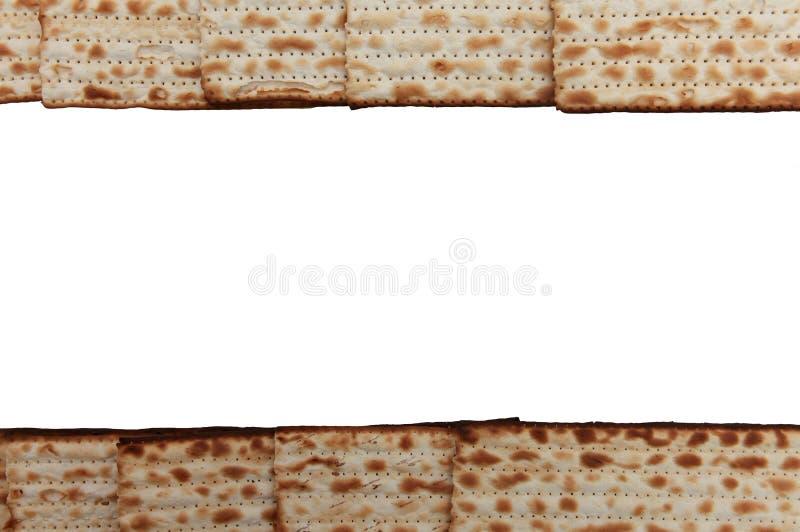 Matzo judaico tradicional da páscoa judaica do alimento do feriado fotografia de stock
