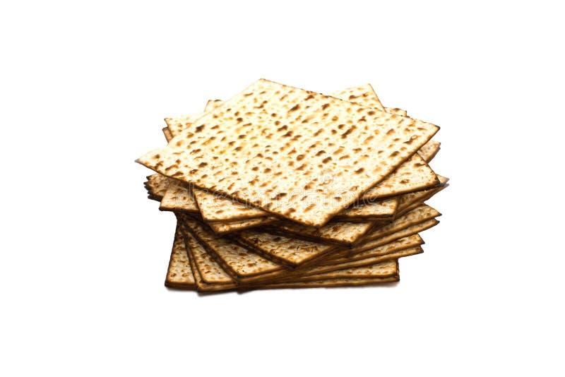 Matzoh (jüdisches Passahfestbrot) stockfotografie