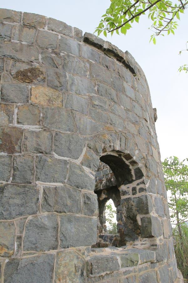 Mau Wu Shan Bunker no junho de 2014 imagens de stock