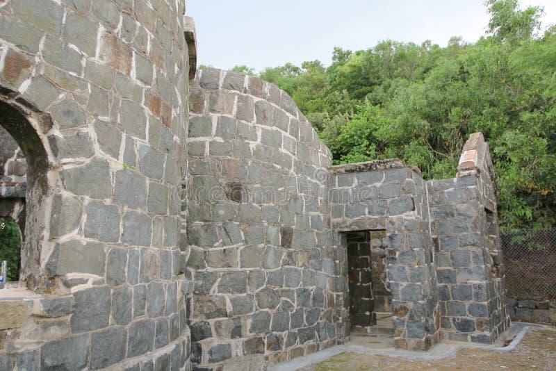 Mau Wu Shan Bunker no junho de 2014 fotografia de stock