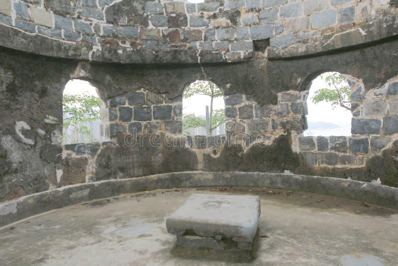Mau Wu Shan Bunker no junho de 2014 imagem de stock