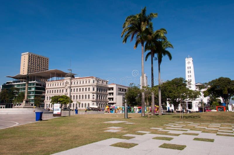 Maua fyrkant i Rio de Janeiro royaltyfria bilder