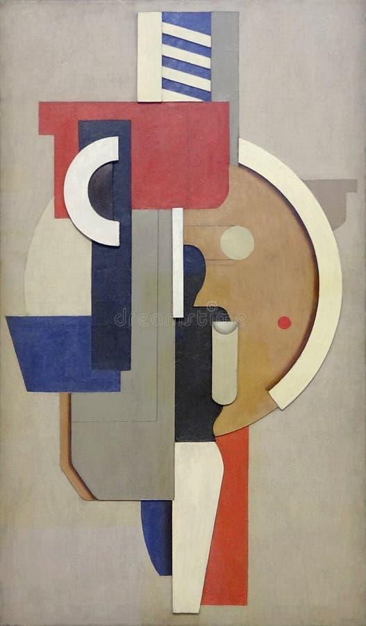 ' Mauerbild MIT-kreis ( Verzeichnis Wand-avec cercle) ' , Willi Baumeister, 1923 Centre Pompidou, Paris lizenzfreie stockfotografie